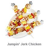 Jumpin' Jerk Chicken Kabobs