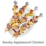 Smoky Applewood Chicken Kabobs