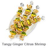 Tangy Ginger Citrus Shrimp