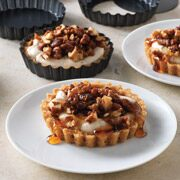 Spiced Maple-Walnut Tarts