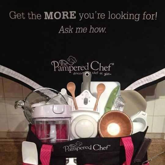 pampered chef perks